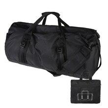 Складной Высокое качество нейлон Водонепроницаемый дорожная сумка большая Ёмкость Чемодан Сумки складная дорожная сумка X175 скидка 48%