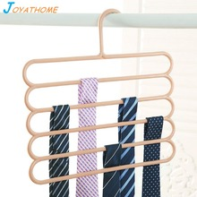 Joyathome Adults 5 Layers Pants Rack Non-Slip Scarf Tie Belt Storage Hangers for Wardrobe Clothes