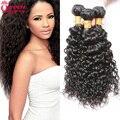 7a Malaysian Water Wave Virgin Hair 3pcs Lot Cheap Human Hair Wet And Wavy Virgin Malaysian Hair Malaysian Water Wave 8-30 Inch