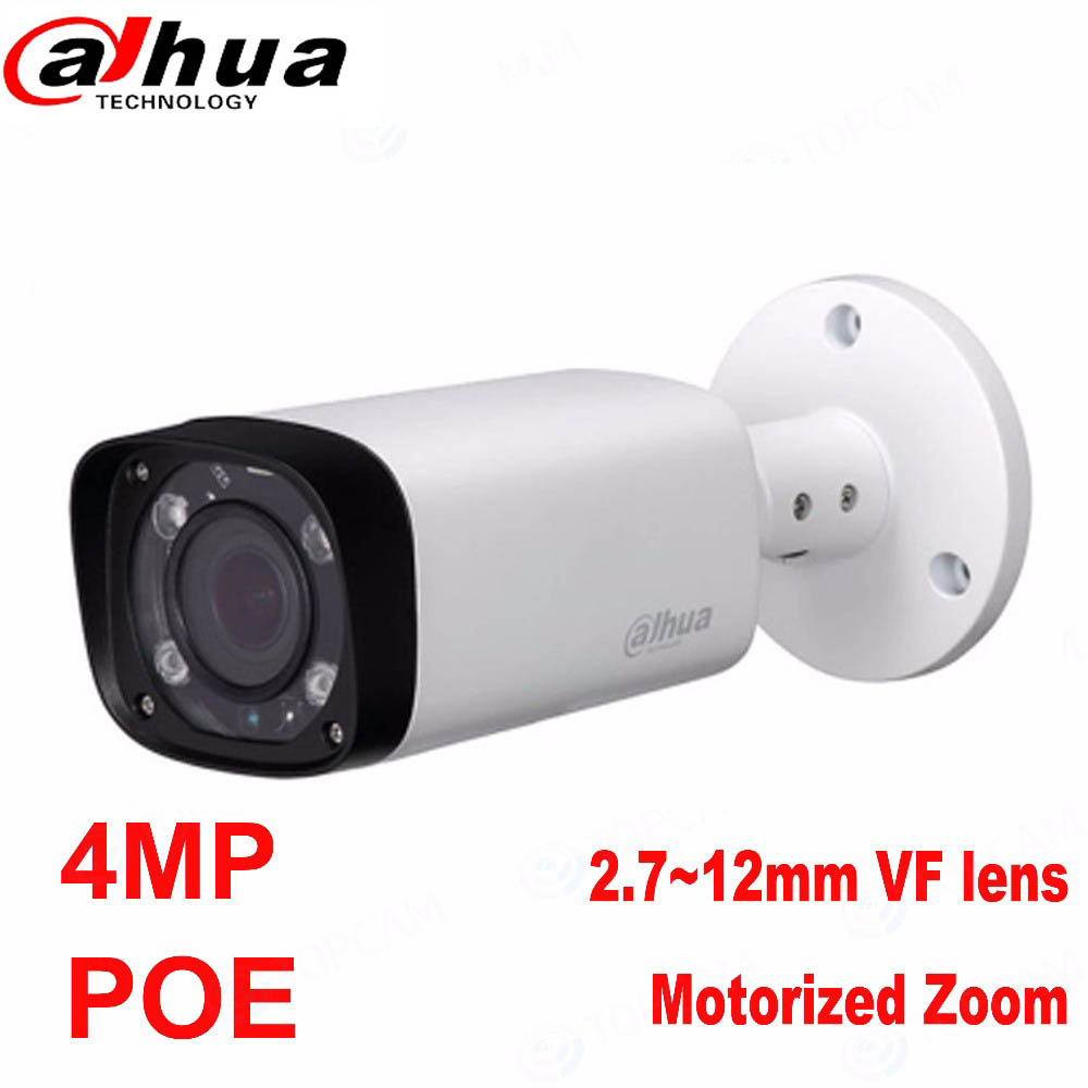 Original Dahua 4mp Bullet Camera IPC-HFW4431R-Z 80m IR Night Camera with 2.7~12mm VF len ...