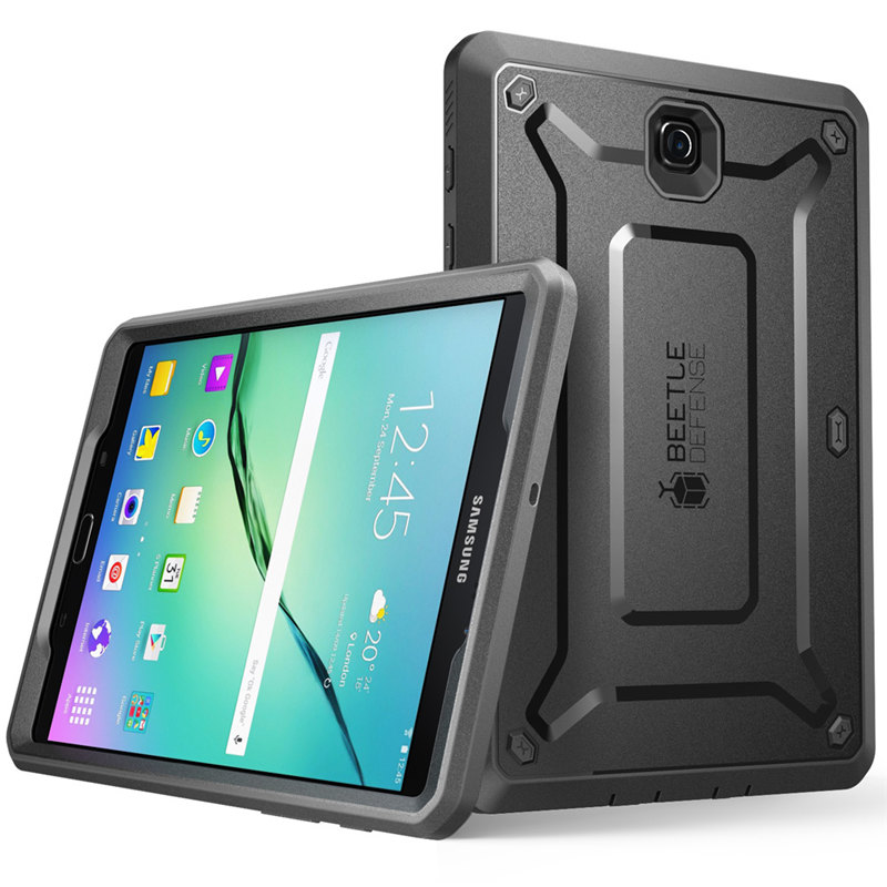 For Samsung Galaxy Tab S2 8.0 Case UB Pro Full-Body Rugged Hybrid Protective Defense Case With Built-In Screen Protector