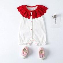 Комплект одежды для новорожденных девочек, боди, кружевная Одежда для новорожденных девочек Комбинезон на лямках для детей от 0 до 3 месяцев, ropa bebe recien nacido verano# G8