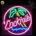 Неоновая вывеска для коктейлей  неоновая лампочка с пальмовым деревом  неоновая вывеска для пивного бара  пивного бара  неоновая трубка  выв...