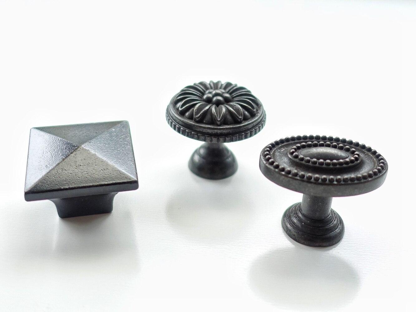 Knoppen Voor Kast : Kopen goedkoop zwarte antieke vintage kast knop lade deur handgrepen