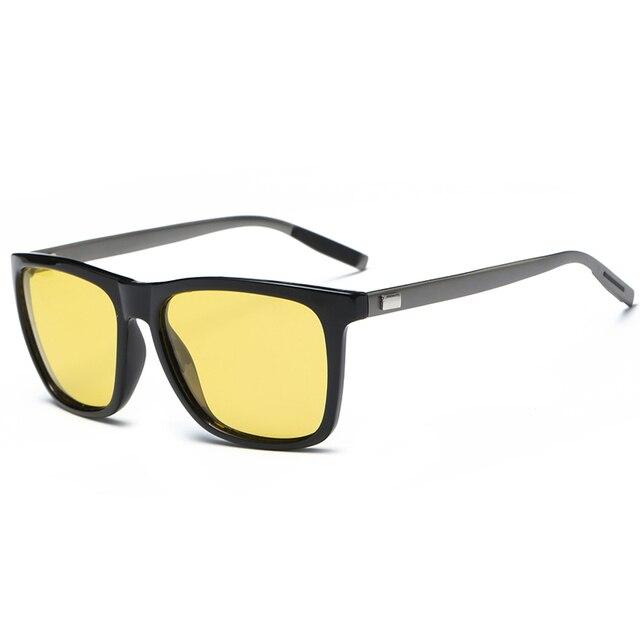 2018 Night verision Aluminum Glasses Anti Glare Brand Unisex Retro Vintage Eyewear evening Driving Glasses For Men/Women 3
