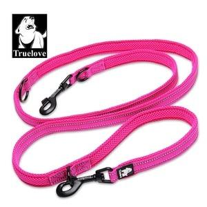 Image 3 - Truelove 7 In 1 Multi Function Adjustable Dog Lead Hand Free Pet Training Leash Reflective Multi Purpose Dog Leash Walk 2 Dogs