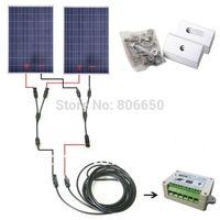 Полный комплект 200 Вт солнечная панель ячеек от сетки системы Вт, 200 Вт солнечная система для дома и Бесплатная доставка без налога без пошли