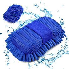 Hot Ultrafine Fiber Chenille Anthozoan Car Wash Gloves Microfiber Car&Motorcycle Washer Supplies Car care brushes cleaning Tool