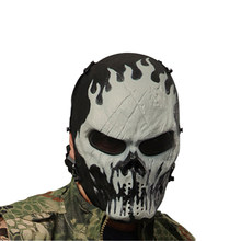 Typhoon Camouflage Hunting Accessories Masks Ghost Tactical Outdoor Military Wargame Paintball Full Face Mask(China)