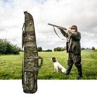 Military Airsoft Rifle Shotgun Bag Case 1200D Long Camo Scoped Rifle Bag Hunting Soft Padded Gun