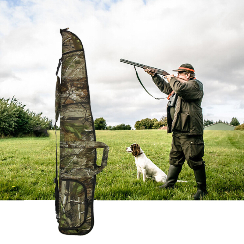 Militär Airsoft Rifle Shotgun Bag Fall 1200D Lång Camo Scoped Rifle - Jakt - Foto 1