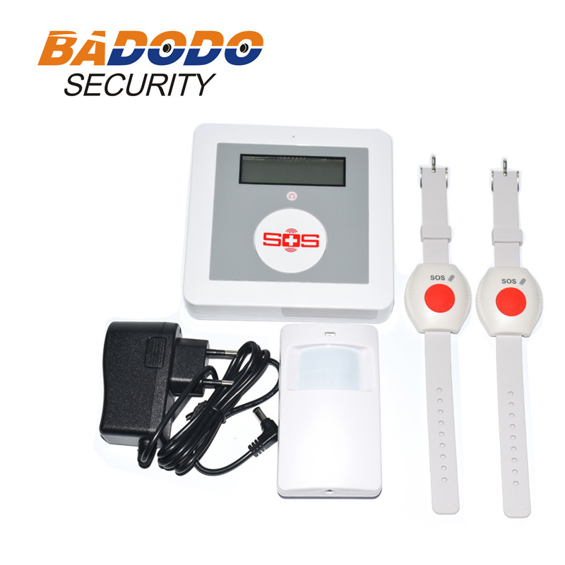 Pir Elderly Patient Home Care Sos Call Alarm Gsm Alarm System For Home Security System Push To