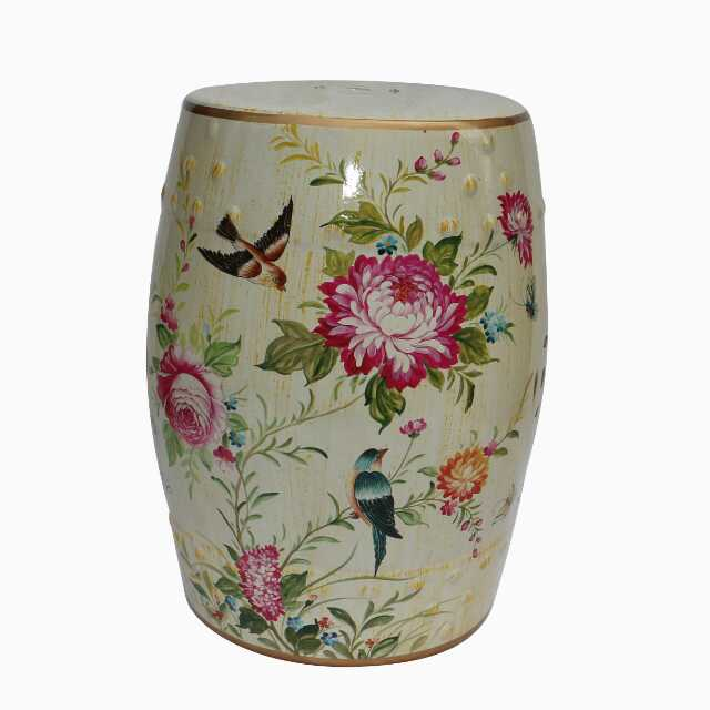 Art China Jindezhen Dressing Table Ceramic Garden Stool Chinese Drum Bathroom In Stools Ottomans From Furniture On