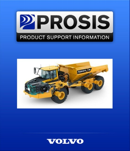 Construction Equipment PROSIS 5 2017 (Parts+Repair)+ Patch for volvo