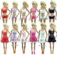 Factory wholesales 60 or 120 Sets Sexy Nightwear Bra Underwear For Barbie Doll
