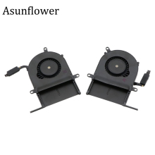 Asunflower Cooler For Macbook Pro Retina 13 A1425 CPU Cooling Fan Left & Right 2012 MG40060V1-C001-S9A MG40060V1-C011-S9A