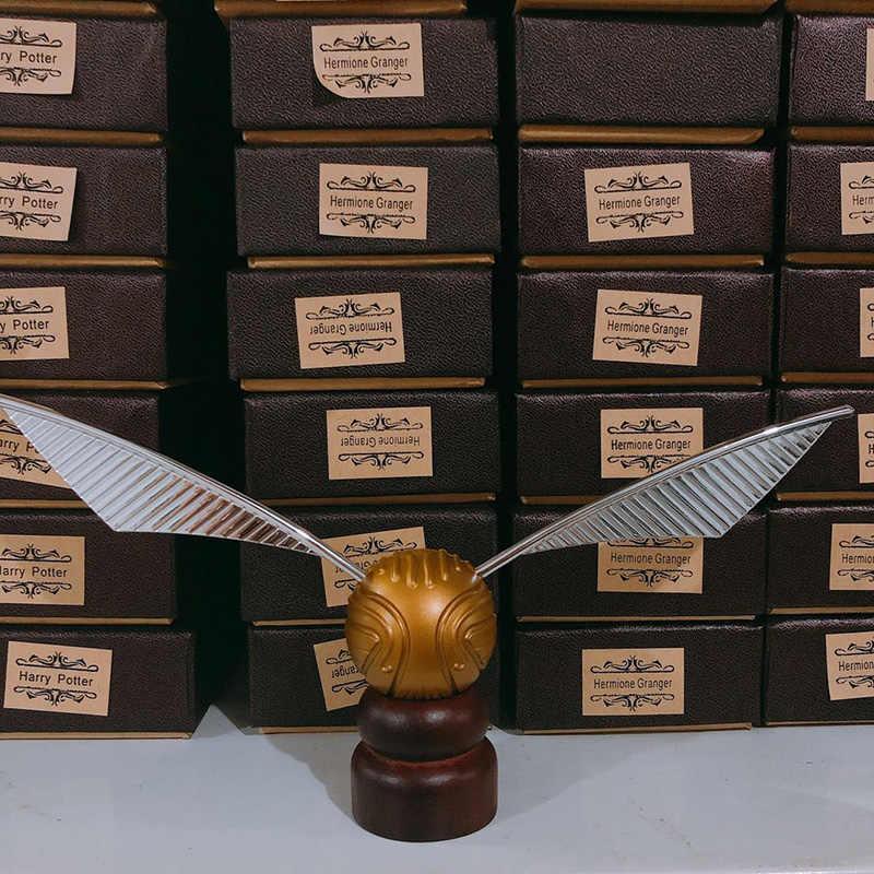 Харри Поттер Золотой сныч с Хогвартс Лондон Экспресс копия поезд билета и рыцарь автобусный билет и Висячие ожерелья