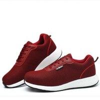 Дышащая защитная обувь для мужчин; легкие летние прочные пирсинг рабочие сандалии одинарный, сетчатый, кроссовки на платформе
