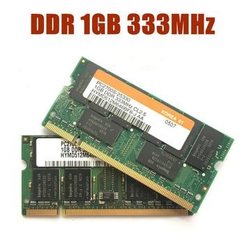 KcmsywjR DDR DDR1 1GB 2GB 333MHz PC-2700S 1G notebook memoria portátil RAM SODIMM 333 intel para amd PC2700S Hynix Chipset
