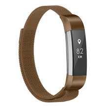 loop for Fitbit Alta/fitbit Alta HR band Magnetic Lock wristband replacement  Band Stainless Steel metal Strap