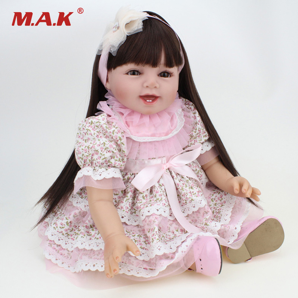 55CM Handmade Doll Reborn Lifelike Girl Baby Doll Silicone Vinyl Newborn Dolls 2pcs 150mm big optical pmma plastic round solar condensing compound eye fresnel lens improving brightness of light focal length