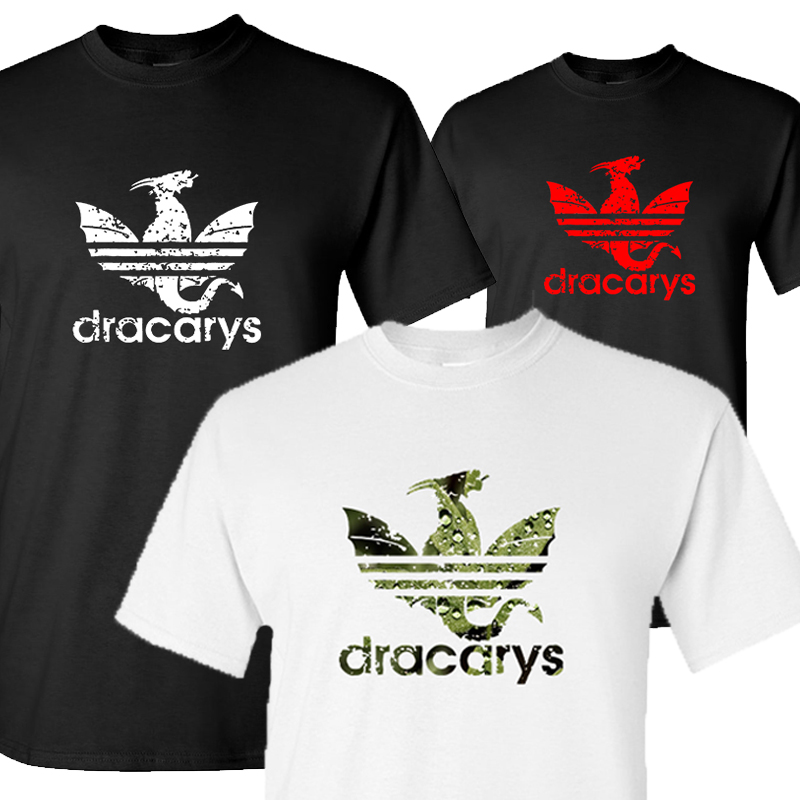 New Dracarys   t     shirt   for Men/Women Game Of Thrones Aesthetic tshirt Mother of Dragon Daenerys Harajuku Clothes Khaleesi Camiseta