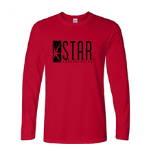 STAR S.T.A.R.labs Long Sleeve T Shirts Autumn