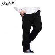 ActhInK Garçons Formelle Partie Pantalon Marque Coréenne Vêtements Garçons Solide Coton Costume Pantalon Garçons De Mariage Pantalon Enfants Vêtements, MC112