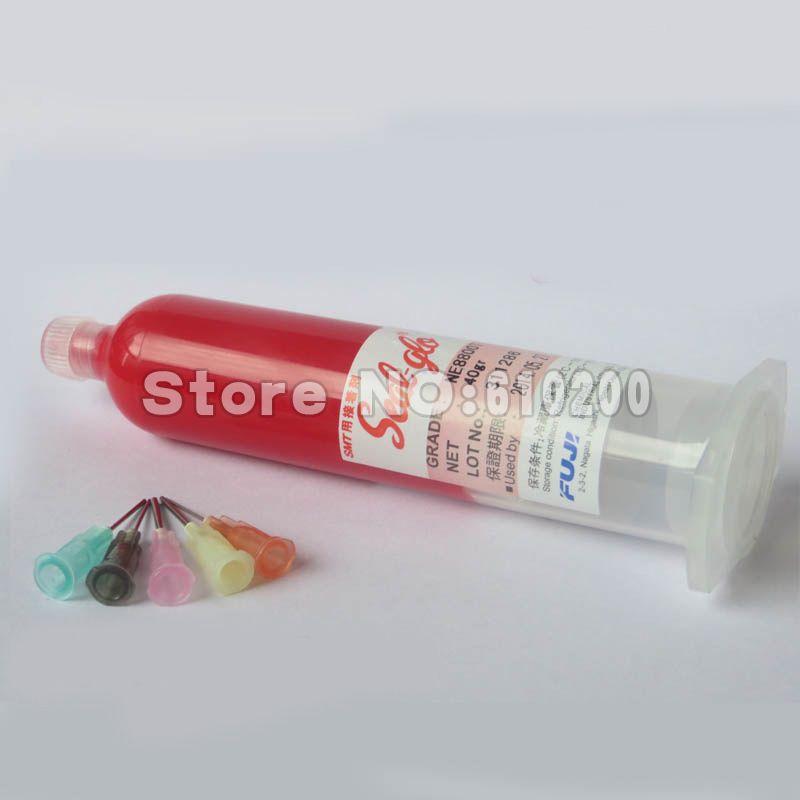Hot sell Fuji red glue adhensive 36g for SMT repair bga Consumables