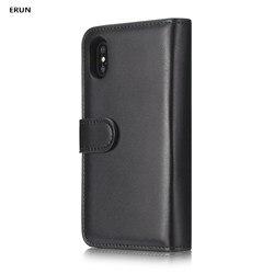 Wallet case iPhone XS zipper case, wallet, plain protective case, multi-functional case 1