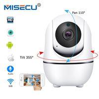 MISECU Smart IP Camera WiFi Pan Tilt Two Way Audio Wireless IP FULL HD 1080P 720P