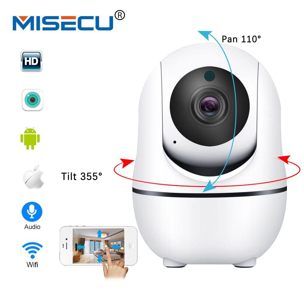 MISECU Smart Home Security IP Camera WiFi Pan Tilt Two Way Audio Wireless IP FULL HD 1080P 720P IR N
