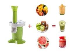 Multifunctional Ice Cream Maker Rotatable DIY Household Portable Juicer Ice Cream Fruit vegetable Juicer SAFE fruit juice