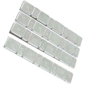 Image 3 - Kit déquilibrage de pneus de voiture, 32 pièces/lot, barre de pneus, outils pour moto, poids, bâton en acier
