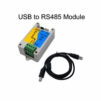 Free Shipping 1pc Industrial use USB to RS485 Module lightning protection protocol converter