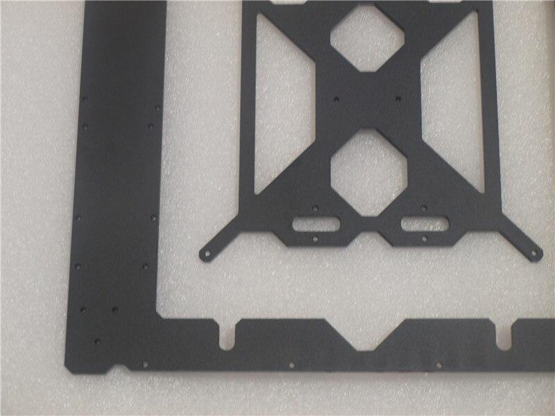 Reprap Prusa i3 MK2 Klon aluminium rahmen kit 6mm dicke schwarze ...