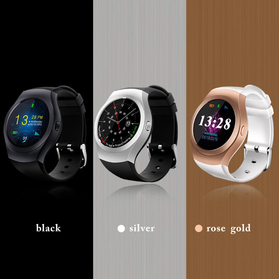 Smart Watch KS2 Fashion HD Bluetooth 4.0 Smartwatch Phone Full Round Touch Screen Support SIM TF Card For Android IOS Samsung