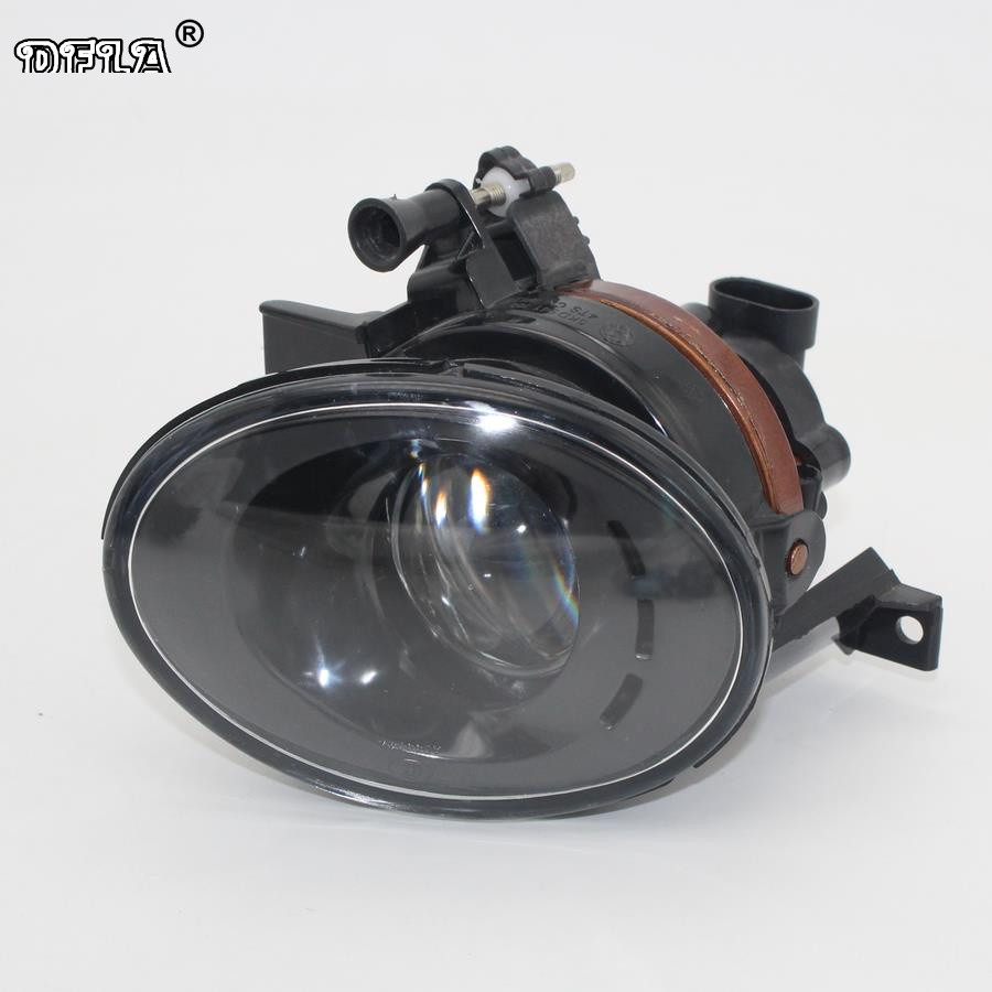 Right Side Car Light For VW Tiguan 5N2 2012 2013 2014 2015 2016 2017 Car-styling Front Fog Light Fog Lamp With Convex Lens 1pcs right side car front bumper clear lens fog light driving lamp with bulb for volvo s80 2007 2012