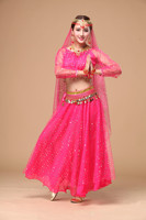 Fashion Women Belly Dance Costume Sets Lady Indian Dance Dress For Competition Female Oriental Dance Costumes