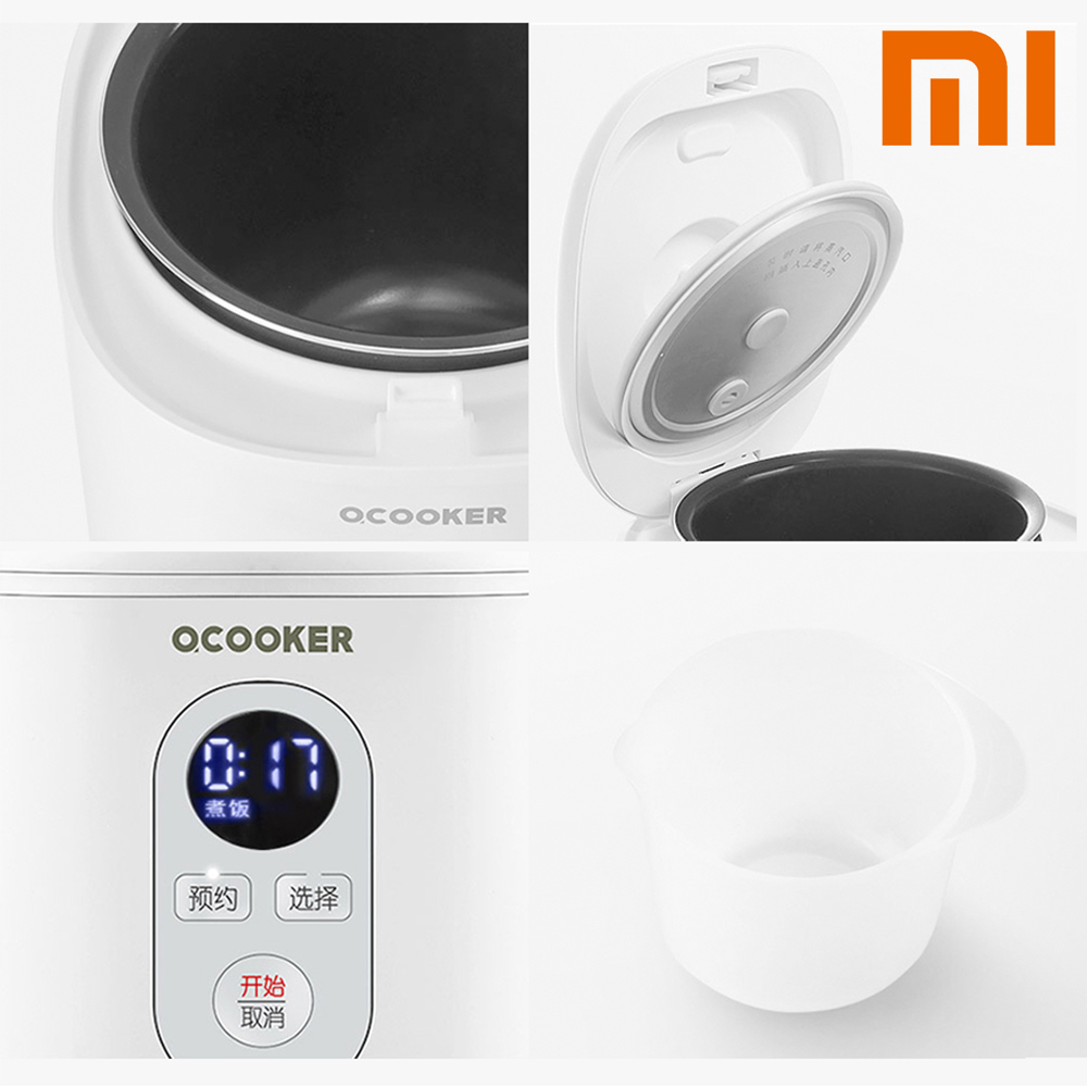 Оригинальный Xiaomi Youpin Мини электрическая рисоварка 1.2L Кухня Плита маленький рис варочная машина умный назначение светодиодный дисплей
