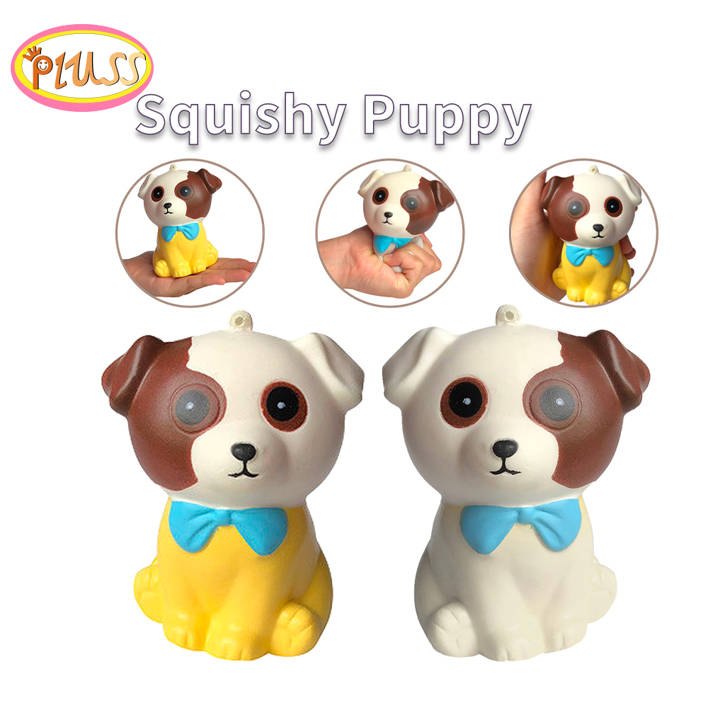 2019 New Squash Dog Squishy Dog Adorable Puppy Squeeze Kid Toy Squishy Slow Rising Stress Relief Toys For Kids