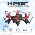 6 Ejes Mini Rc Drone Con Cámara Hd Jjrc H20c Dron Micro Quadcopters Rc Helicóptero Juguetes de Control Remoto Profesional Nano helicópteros