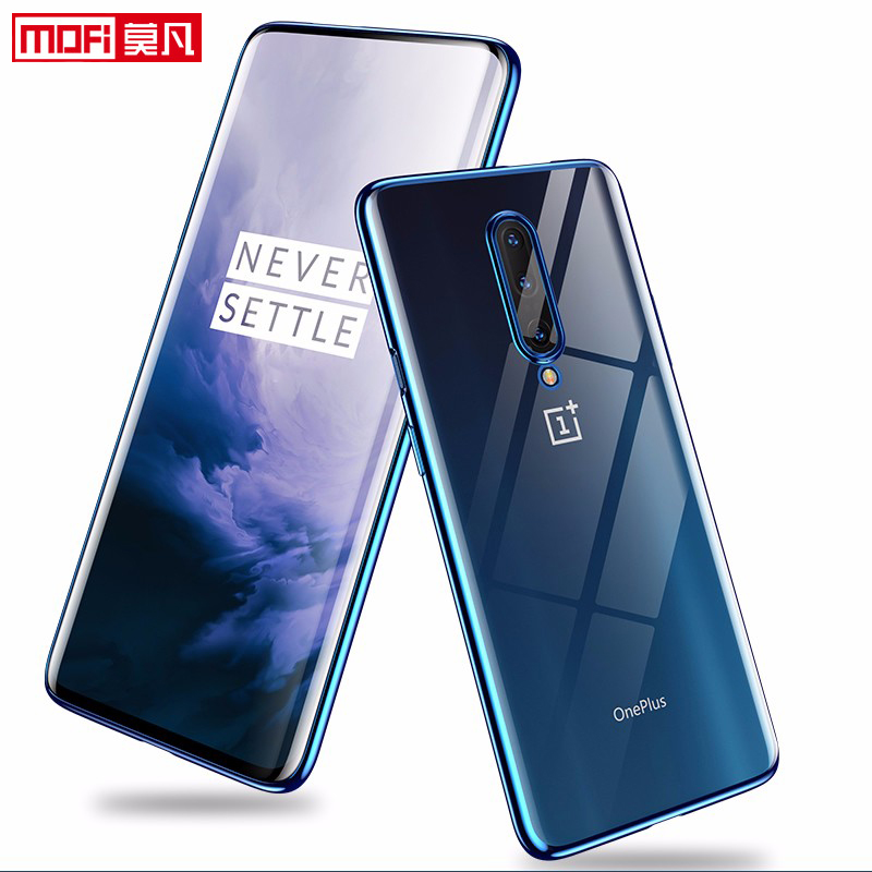 Image 3 - Case For OnePlus 7 Pro Cover transparent oneplus 7 case clear soft back tpu ultra thin silicone backmofi oneplus 7 case-in Fitted Cases from Cellphones & Telecommunications