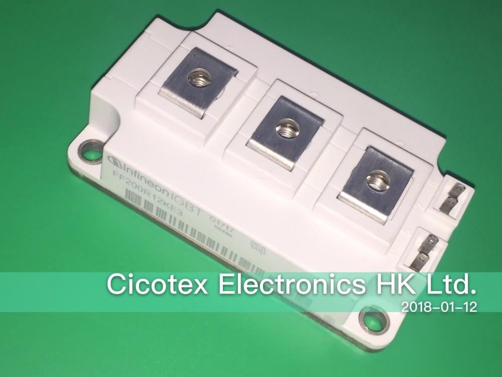 FF200R12KE3 IGBT MODULE VCES 1200V 200A 62MM-1 цена
