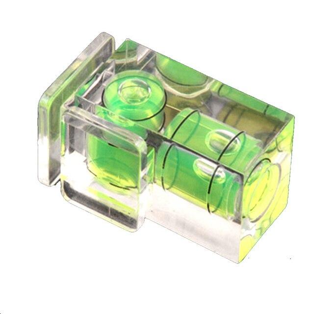 Kaliou nivel de burbuja de 2 ejes Universal Nivel de zapata caliente para Canon Nikon Casio Fuji Samsun Cámara accesorios DSLR
