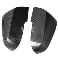 UHK For BMW 1 Series 3 Series Carbon Fiber Rear View Mirror Cover Decoration Accessories Auto Mirror Covers Trim Stickers Caps