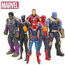 Action-Figures Marvel Captain The Avengers Model-Toy Collectible TITAN Hero-Series Infinity War