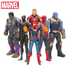2019 29 Cm Marvel Kapten Avengers 4 Mainan Infinity War Thanos Aksi Figur Titan Hero Series Sosok Collectible Model mainan(China)