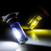 H8 3000K 6500K 8000K Car LED Headlight Foglight Bulbs High and Low Beam  For BMW/Acura/Audi Signal Beam Lamp 6000LM цена