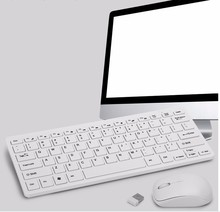 2.4G Extremely-Slim Mini Wi-fi Keyboard Mouse Combos Appropriate With XP/Home windows/IOS/Andriod Non-Noise Dwelling Workplace